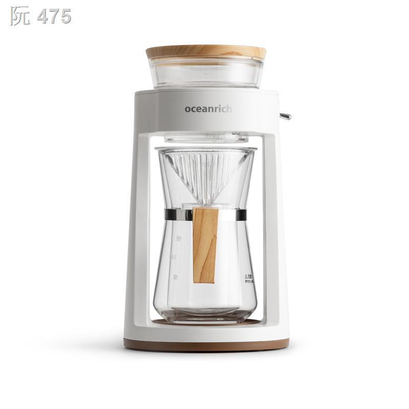 ☌✾☈เครื่องชงกาแฟแบบหยด oceanrich/Ouxinrich เครื่องทำกาแฟด้วยมือแบบอัตโนมัติ กาน้ำชาสำนักงาน