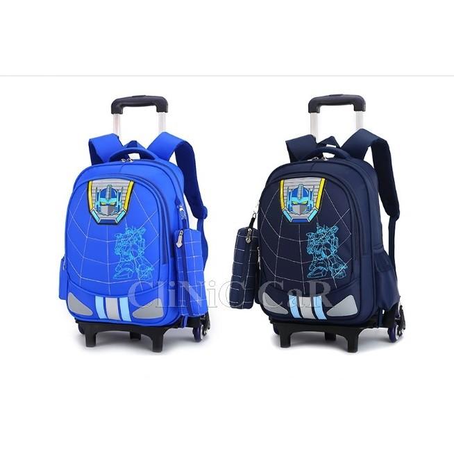 กระเป๋าเดินทาง กระเป๋าเดินทางล้อลาก หรือกระเป๋านักเรียน V.16   6 ล้อ + กระเป๋าข้างเล็ก กระเป๋าล้อลาก กระเป๋าเดินทาง