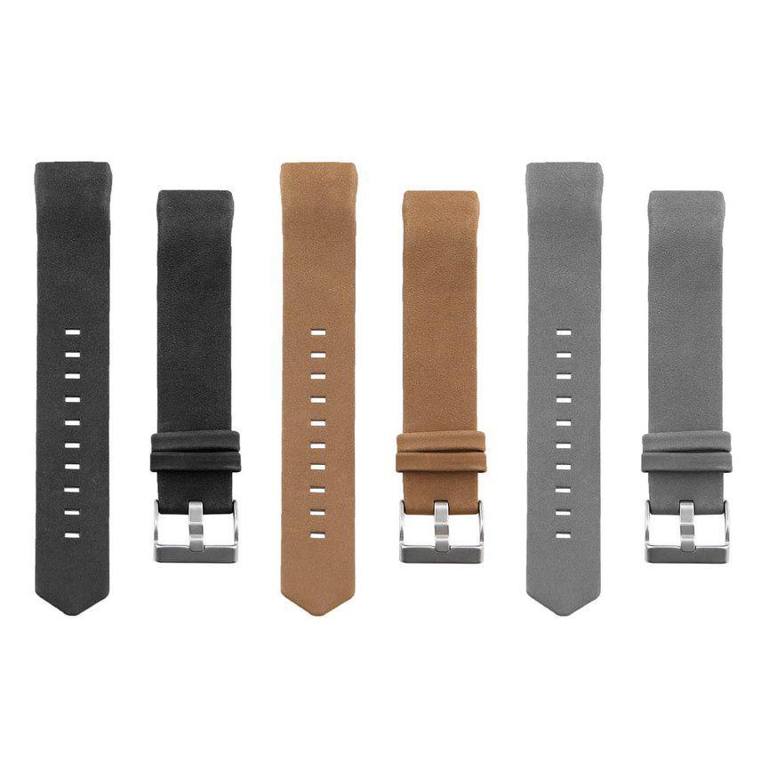 e1780d08e Genuine Leather Wrist Band Watch Strap Smart Bracelet Replace Watchband