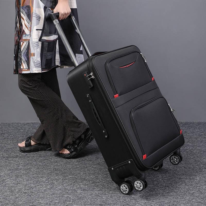 กระเป๋าเดินทางมีล้อเลื่อน 20 นิ้ว 24 นิ้ว