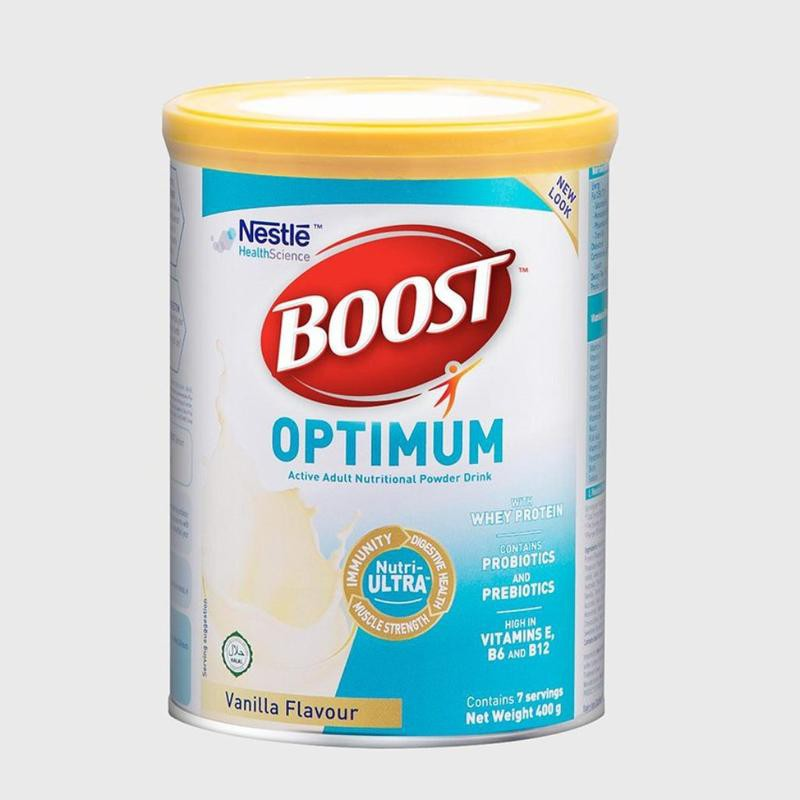 BOOST OPTIMUM POWD 400 GM