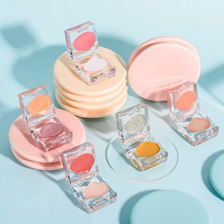 GUICAMI crystal shell high-gloss blush all-in-one plate student cheap moisturizing natural nude makeup long-lasting make