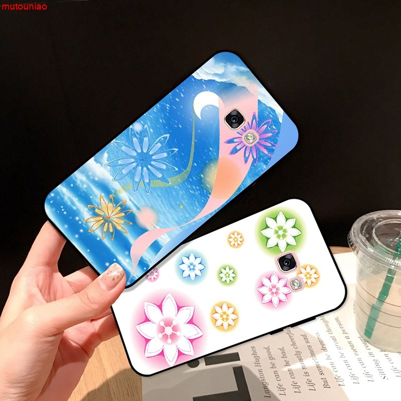 Samsung A3 A5 A6 A7 A8 A9 Pro Star Plus 2015 2016 2017 2018 HCXT Pattern-6 Silicon Case Cover