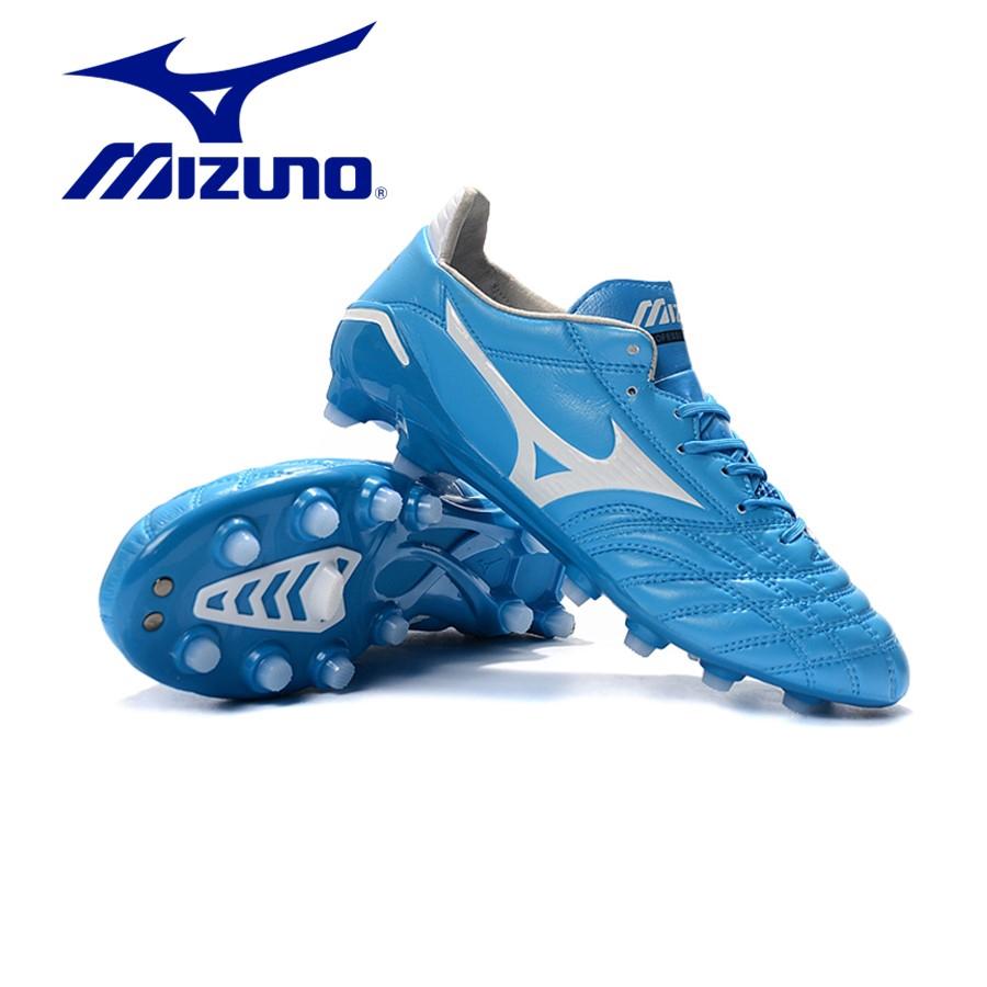 【ขายด่วน】💯Mizuno Morelia Neo II FGรองเท้าฟุตบอล Mizuno Moreira series FG รองเท้าฟุตบอลด้านล่าง 39-45