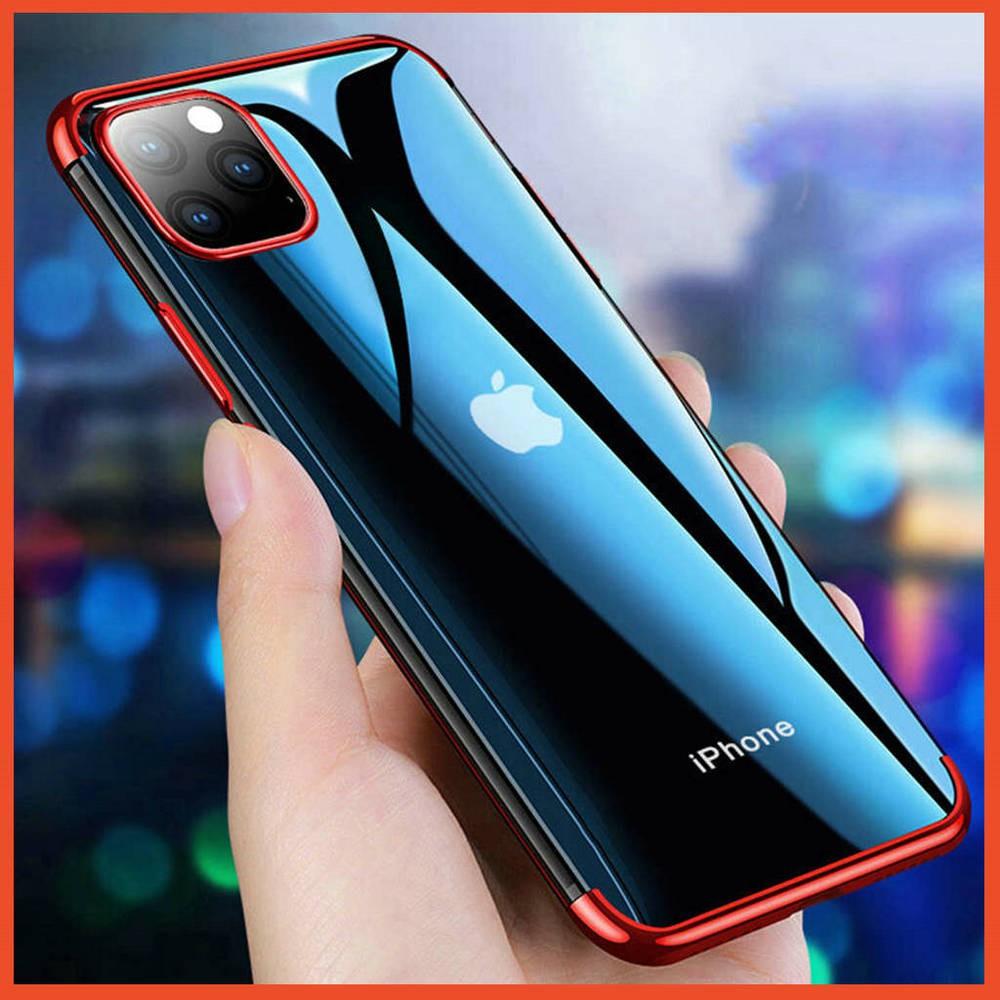 เคสซิลิโคน Clear 🔥 เคส Apple iPhone SE 2020 11 Pro Max 7 8 6 6s Plus X XR XS 5 5s SE ไอโฟน SE2 แบบนิ่ม เคสโทรศัพท์