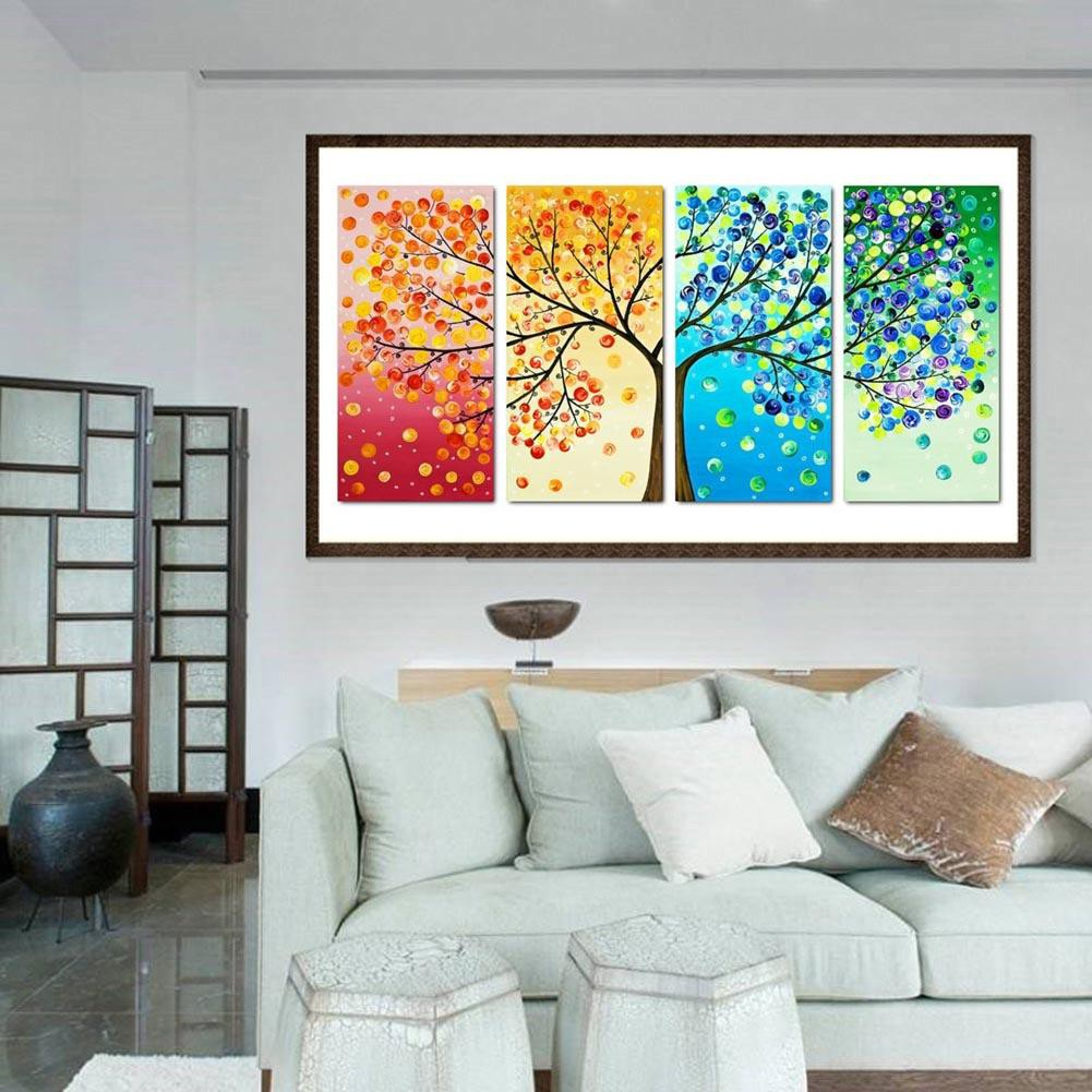 5D DIY Full Drill Diamond Painting Colourful Cross Stitch Embroidery Kit Craft