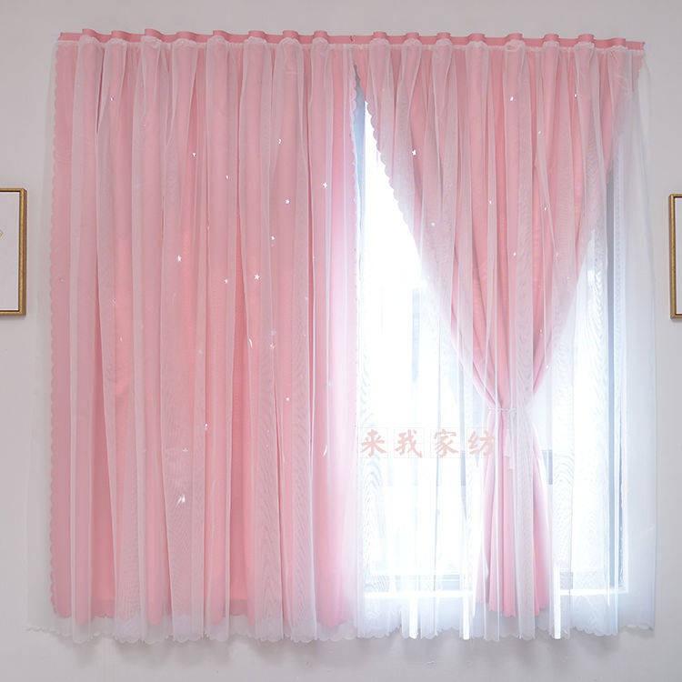 💥 ผ้าม่านหน้าต่างกันแสง 💥 ม่านหน้าต่าง ผ้าม่าน ผ้าม่านและมู่ลี่ ผ้าม่านหน้าต่าง ✼ม่านฟรีเจาะผลิตภัณฑ์สำเร็จรูปห้องพักห