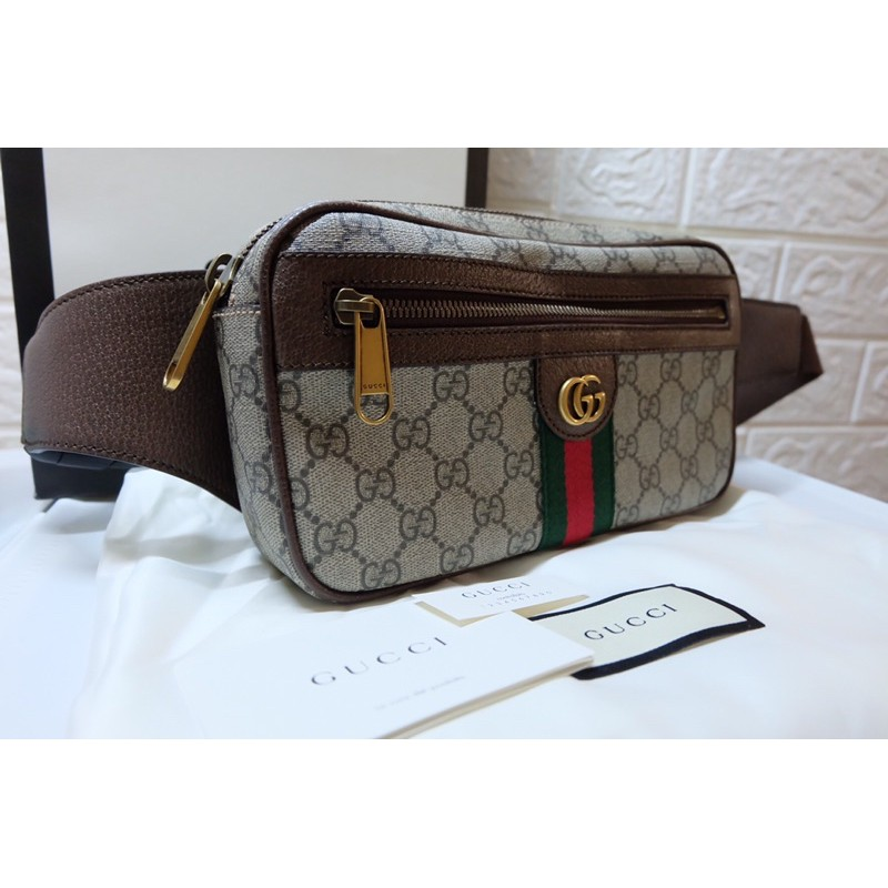 New Gucci Ophidia GG Belt bag