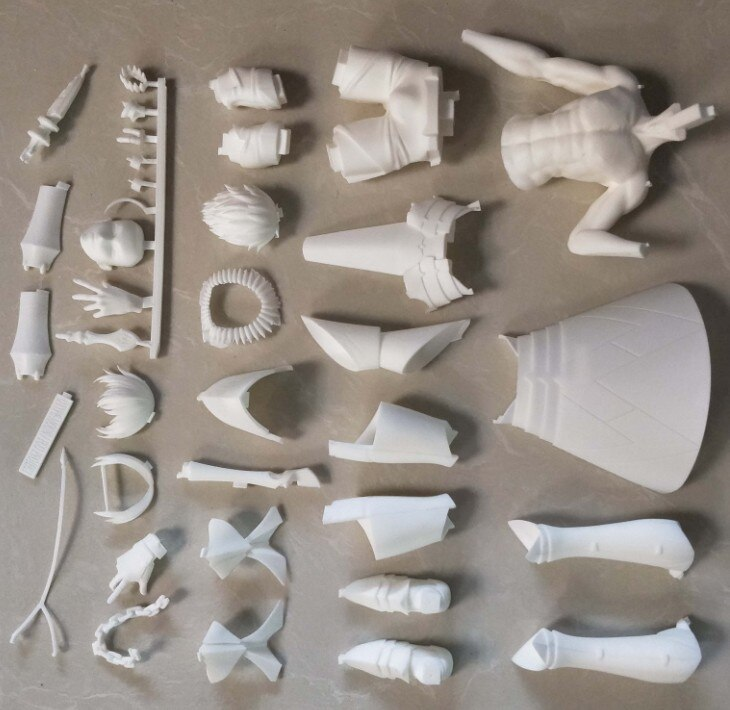 Garage Kit Unpainted Garage Resin Model Kit 1/6 Fate/stay night fgo Gilgamesh Resin Figure Kit