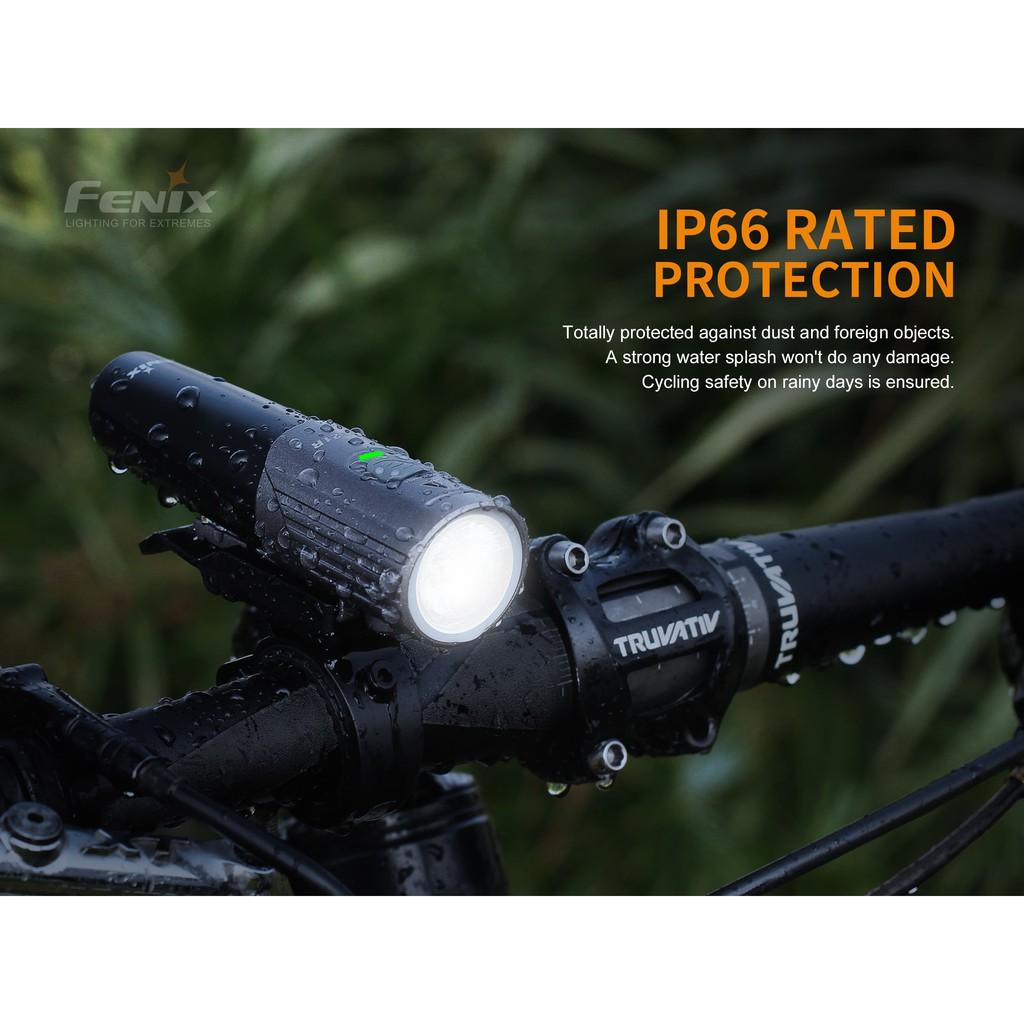 ไฟฉายติดจักรยาน  Fenix BC21R V2.0  รุ่นใหม่