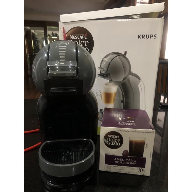 เครื่องทำกาแฟ แคปซูล Nescafe Mini me