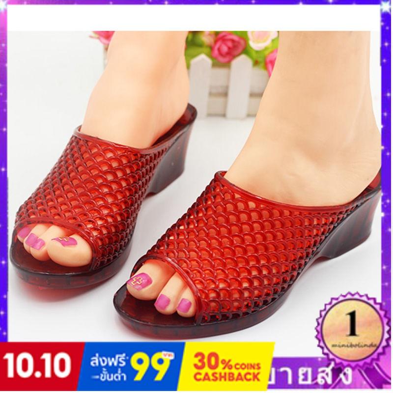 ⭐👠รองเท้าส้นสูง หัวแหลม ส้นเข็ม ใส่สบาย New Fshion รองเท้าคัชชูหัวแหลม  รองเท้าแฟชั่นรองเท้าแตะผู้หญิงสวมใส่รองเท้าส้นสู