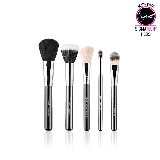 Sigma Beauty Brushes Basic Face Kit