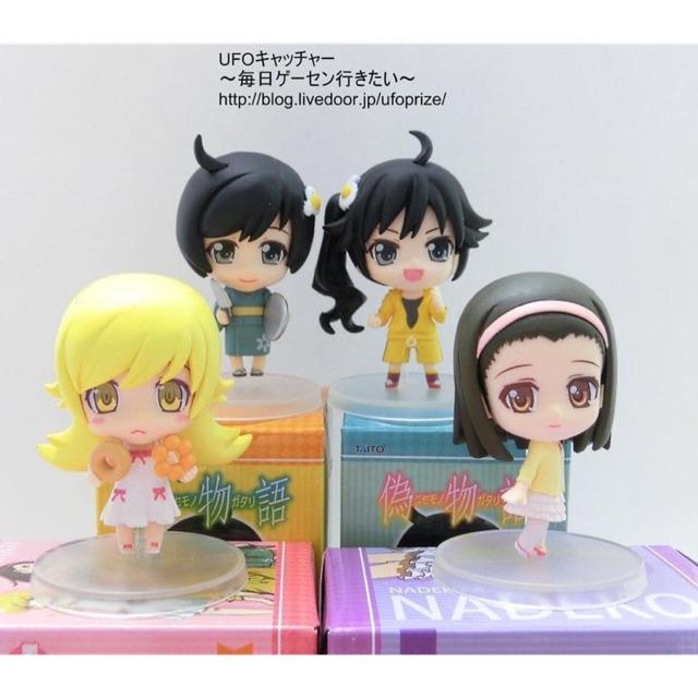 Figure : Nisemonogatari - Nadeko/Shinobu/Karen/Tsukihi - Minikko (Taito)