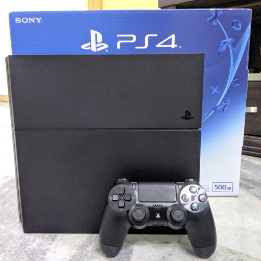 เครื่อง PS4 Fat แท้   มือสอง  ศูนย์ไทย  ความจุ 500Gb - 1Tb   ประกันร้าน 1 เดือน
