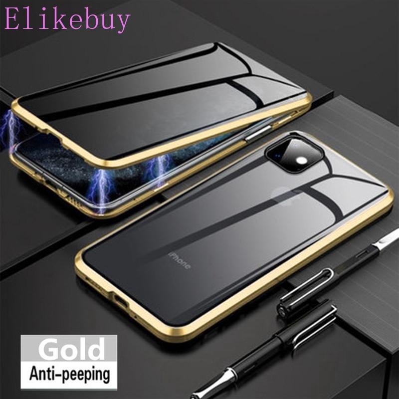 เคสโทรศัพท์มือถือแบบสองด้านสําหรับ Iphone 11 Pro Max Se 2020