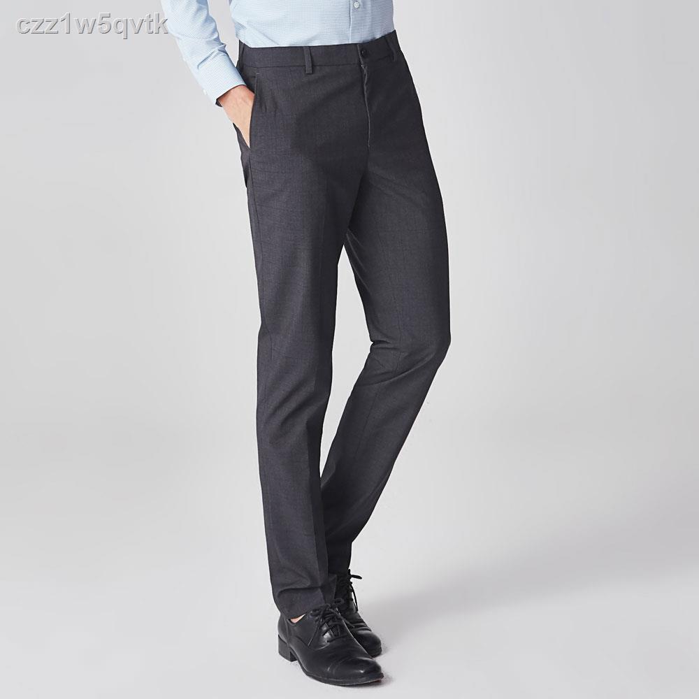 แฟชั่นผู้ชาย☈✺❈G2000 กางเกงสูทโทเรเทกเกอร์ (Slim Fit) รุ่น 9815010494 STREEL GRAY กางเกงขายาว