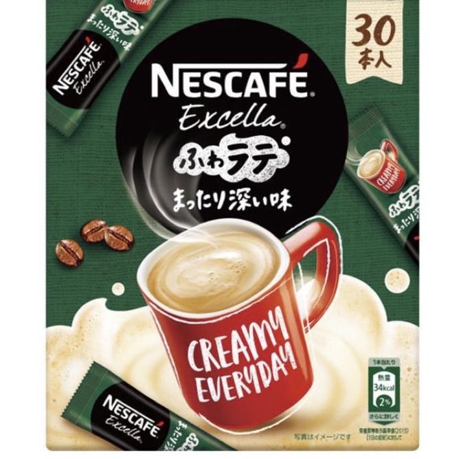 เนสกาแฟ ญี่ปุ่น 30 ซอง Nestle Japan Nescafe Excella Fluffy Latte Deep Flavor 30 Pieces Direct from Japan