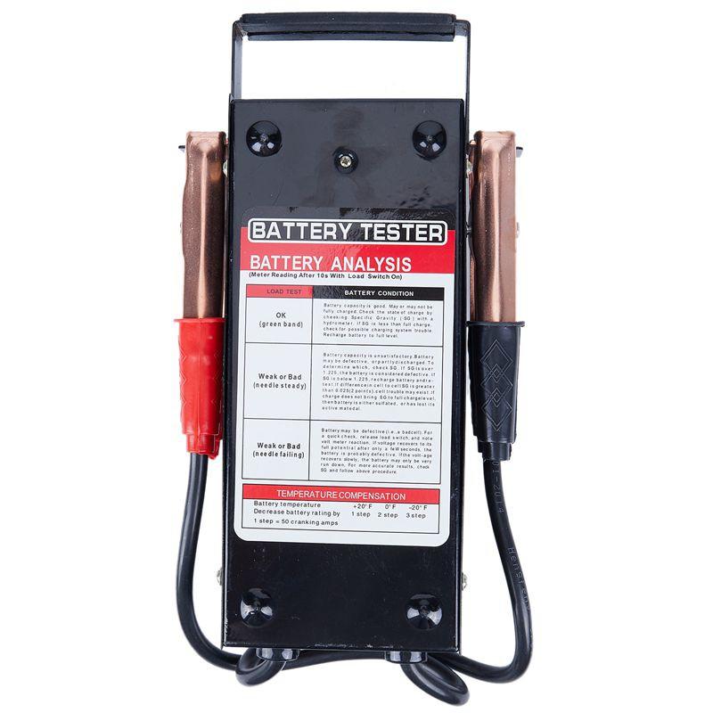 Professional Battery Load Tester 100 Amp Load Type 6V /& 12V Mechanics Car Truck
