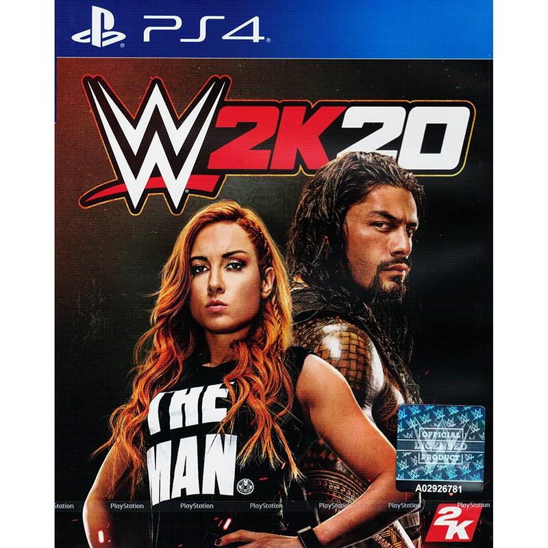 PS4 WWE 2K20 (ENGLISH) / แผ่นเกมส์ PS4