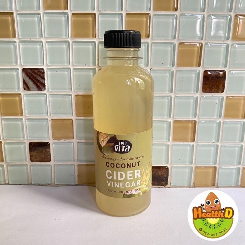 น้ำส้มสายชูมะพร้าวคีโต Coconut cider vinegar