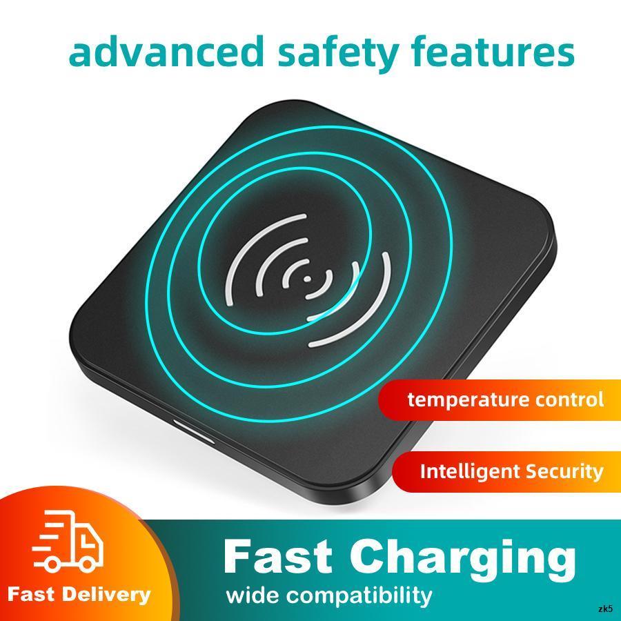 ✻✼CHOETECH ที่ชาร์จแบตไร้สาย แท่นชาร์จแบต T511S QI Certified 10W Fast Wireless Charger Pad Fast Wireless Charging【18 mon