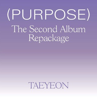 TAEYEON The 2nd Album Repackage 'Purpose'