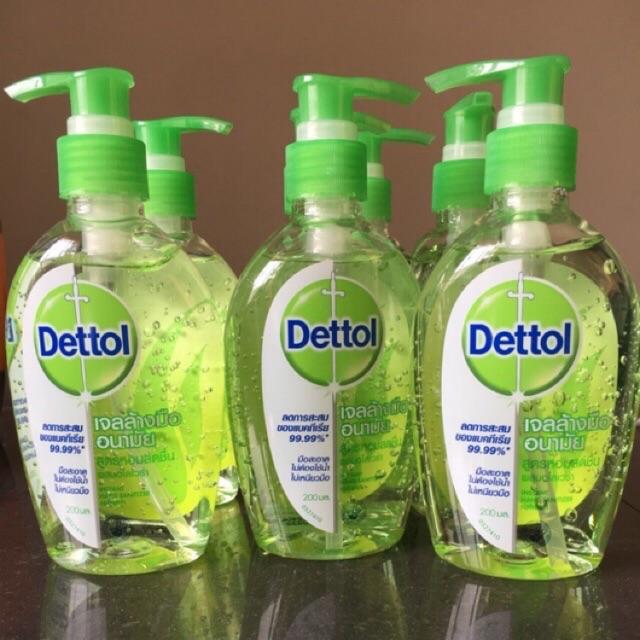 เจลล้างมือ Dettol 200 ml พร้อมส่ง!!