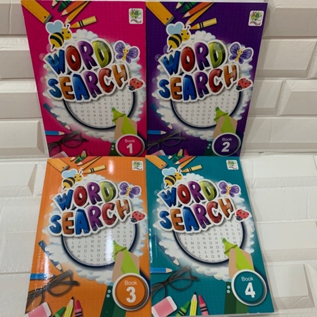 Ohel 1 Set 4 Books Word Search Books Education Books Puzzle Books Learning