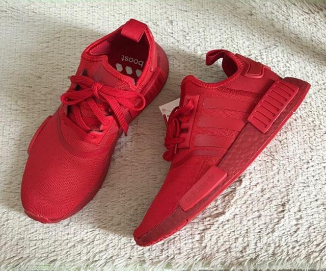 🌟New🌟Adidas NMD R1 สีแดง