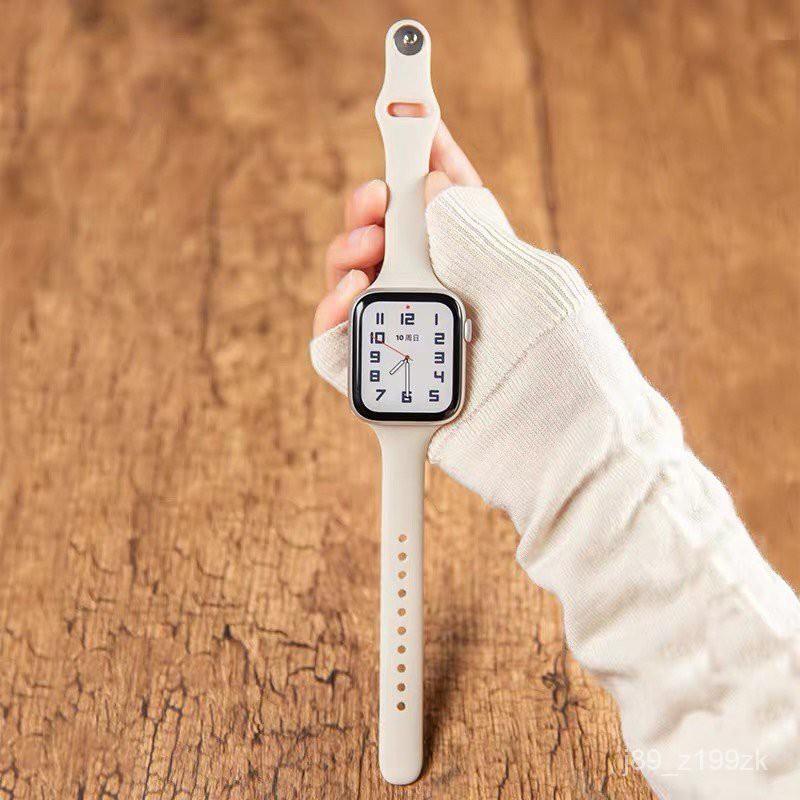 *READY STOCK* พร้อมส่ง‼️สาย สำหรับ Apple Watch สีมาใหม่ series 6 5 4 3 2 1 สำหรับapplewatch ขนาด  42mm 44mm 38mm 40mm bq