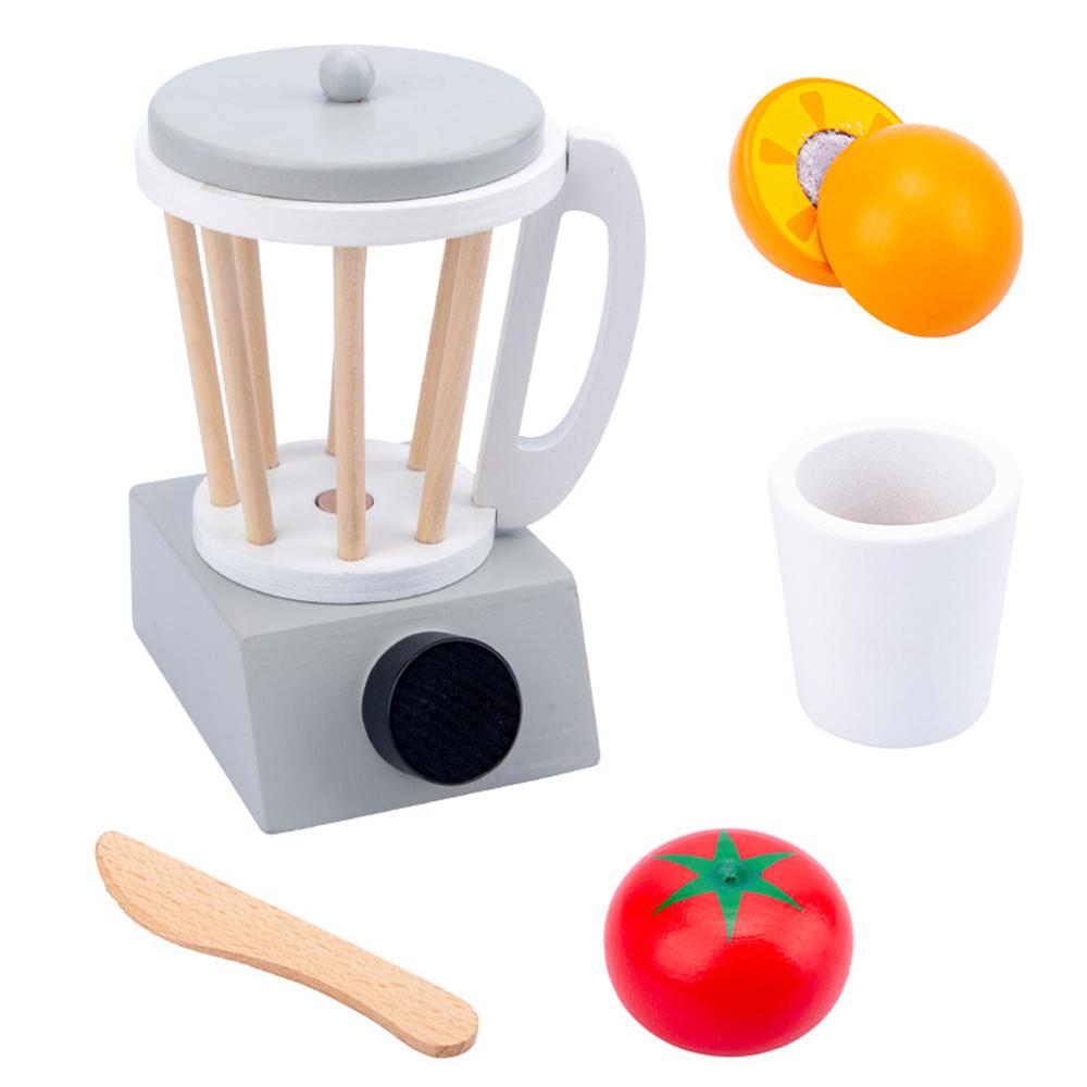 อุปกรณ์ครัวไม้เครื่องมืออุปกรณ์เครื่องเด็กบทบาทPretendของเล่นของขวัญเครื่องทำขนมปัง/กาแฟ/เครื่องปั่น/Eggbeater 03gF