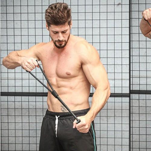ยางยืดออกกำลังกาย ชุดยางยืดสร้างกล้ามเนื้อ ผ้ายืดออกกำลังกาย ยางยืดแรงต้าน  ยางยืดออกกำลังกายแรงต้านสูง