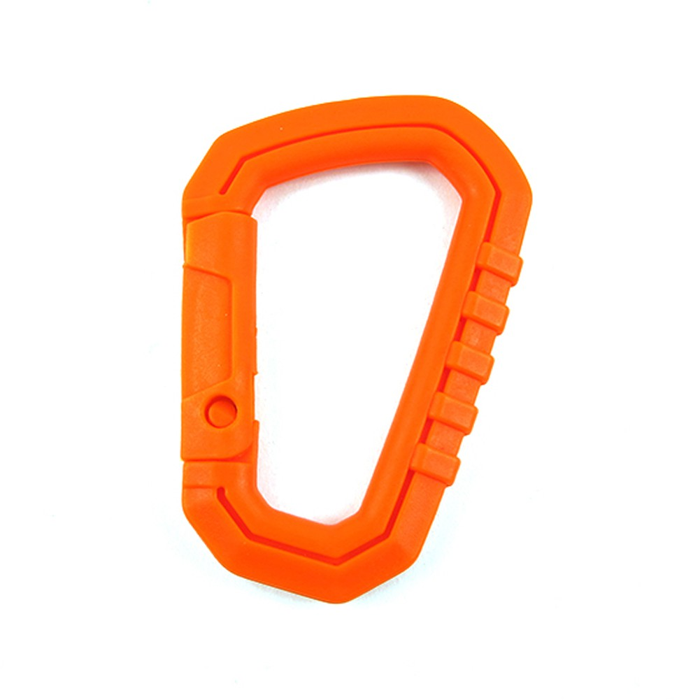 5pcs D Shaped Buckle Snap Clip Climbing Carabiner Hanging Hook EDC Tool Plastic