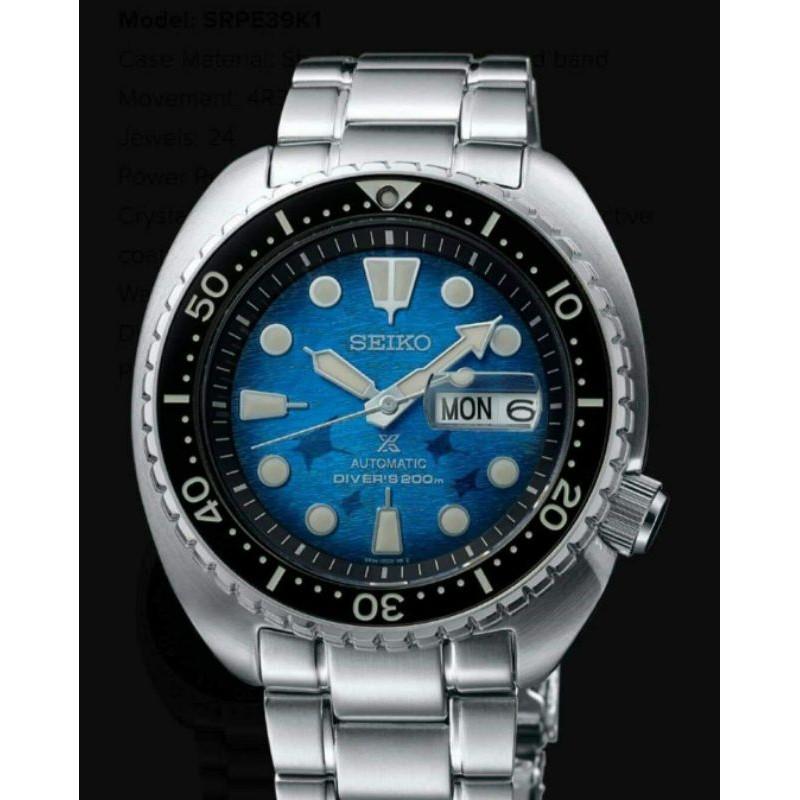 SEIKO PROSPEX KING TURTLE SAVE THE OCEAN SRPE39K1