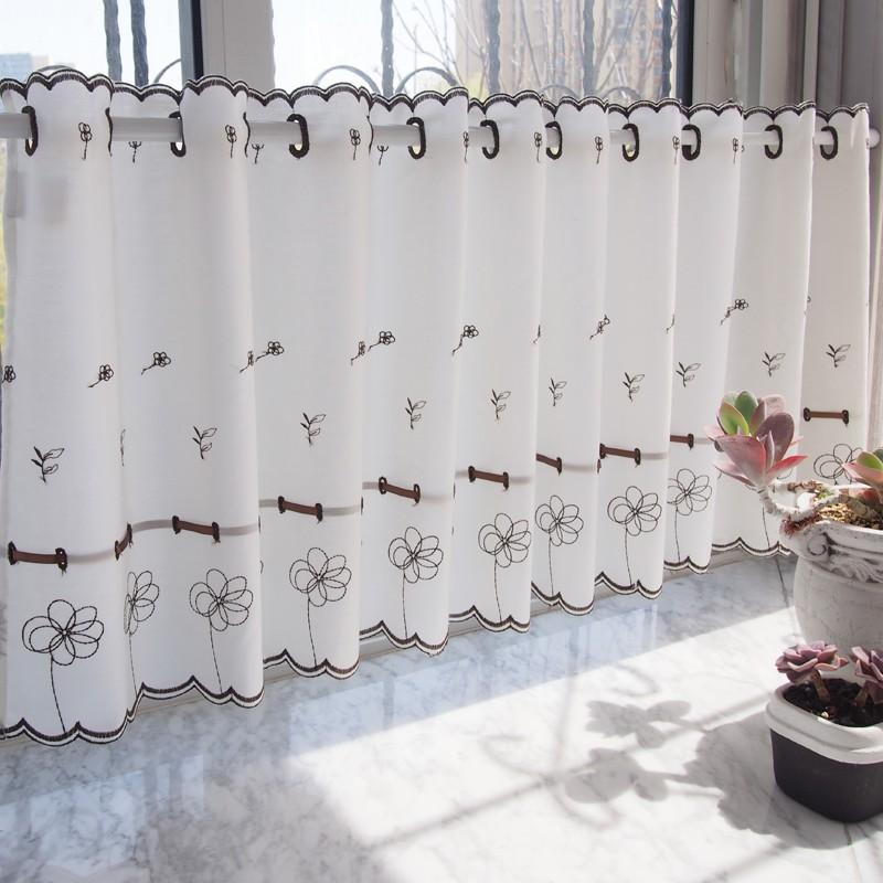 ขายผ้าม่านญี่ปุ่นพระสีกาแฟผ้าม่านประตูม่านครึ่งตู้ครัวผ้าม่านม่านกาแฟสำเร็จรูปผ้าม่านผืนเล็ก B สินค้า