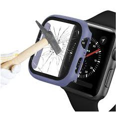 เคส Apple Watch 38mm 40mm42mm 44mm Case Tempered glass Full