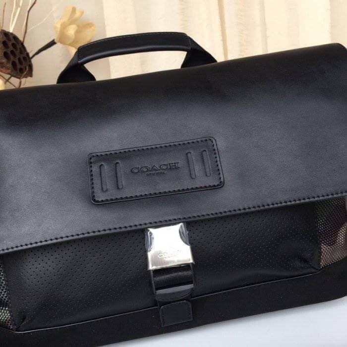 🔥กระเป๋าเสื้อผ้า กระเป๋าถือ Coach แท้💯 (พร้อมส่ง) ส่งฟรี Coach Teerain Bike Bag F29024