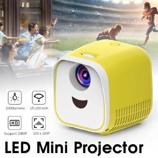 Portable HD 1080P Display Mini Projector โปรเจ็กเตอร์พกพา LED Home Theater Cinema USB HDMI Multiple Interfaces Gifts Proj