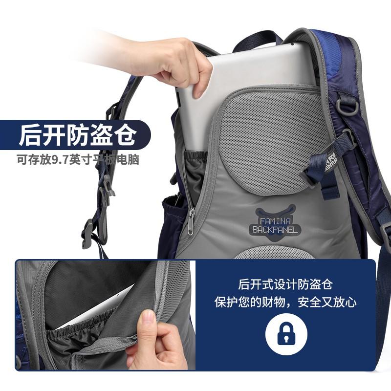 กระเป๋าเดินทางกลางแจ้งขั้ว onepolar ที่ระเบิดได้กระเป๋าเป้สะพายหลังขนาดเล็กหญิงกระเป๋าปีนเขาชายกีฬากระเป๋าเป้ใบเล็กคู่น