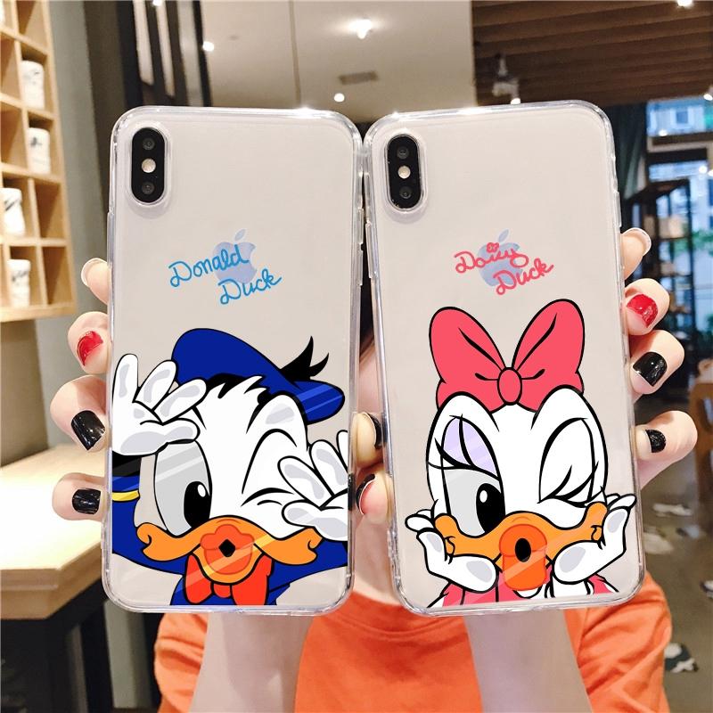 Cartoon Disney Donald Duck Soft Case Samsung J6 2018 J6Plus/J6+ J4 2018 J4Plus/J4+ J8 2018  J2PRO 2018 J7Plus J7Pro/J7 2017 J5Pro/J5 2017 J3Pro/J3 2017 J7Prime J5prime J2prime J710/J7 2016 J510/J5 2016 Note8 Note9 Note10 NOTE10Plus A51