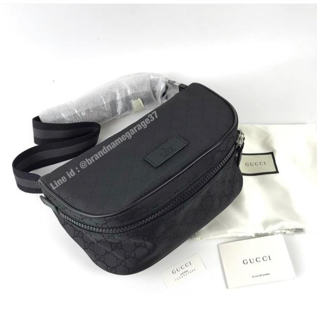 New Gucci nylon belt bag