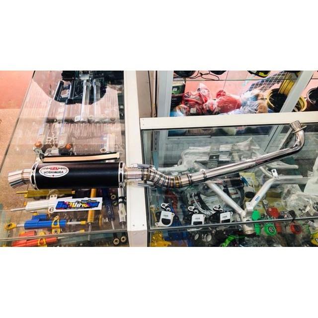 ◎ท่อสูตร ท่อผ่า โยชิมูระ เวฟ WAVE ทุกรุ่น ดรีมซูเปอร์คัพ Click Mio MSX SCOOPY ยิงทราย คอท่อ 28mออก40m