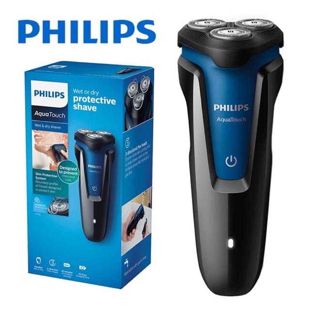 SALE‼️ ล้างสต๊อก Philips (ฟิลลิปส์) Aqua Touch เครื่องโกนขนไฟฟ้าเปียก และแห้ง S1030/04o