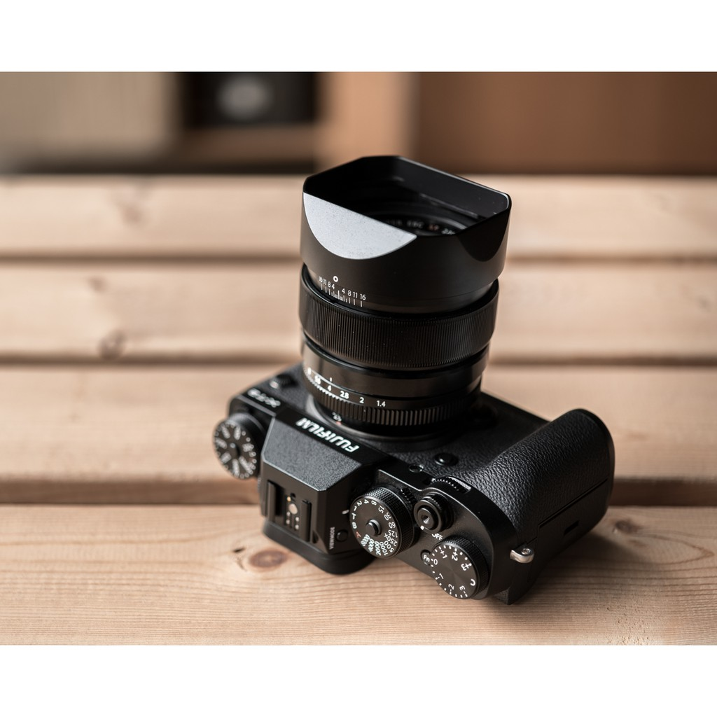 ฮูด Fuji 23mm f1.4 และ Fuji 56mm f1.2 จาก Haoge Lens Hood LH-X23B 7lhh