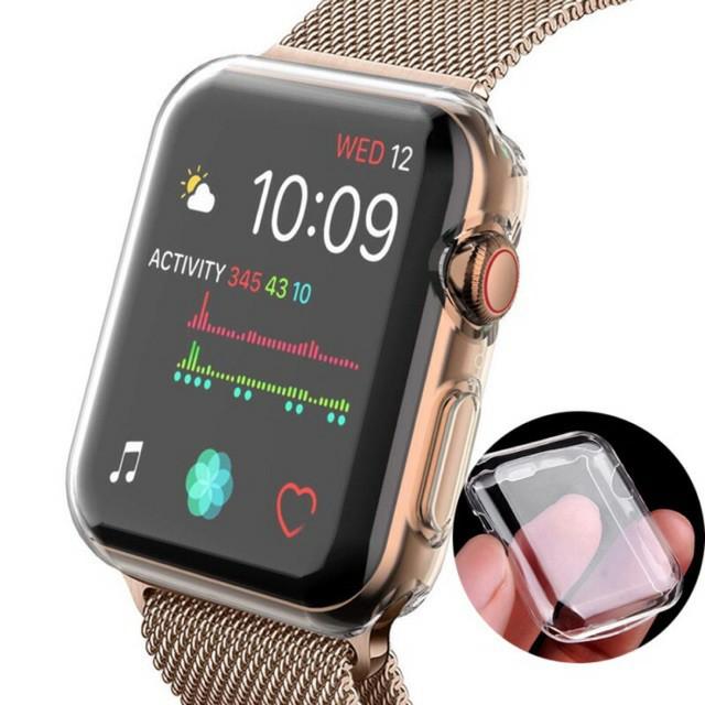 เคสซิลิโคนใสสําหรับ Applewatch Series 1-5