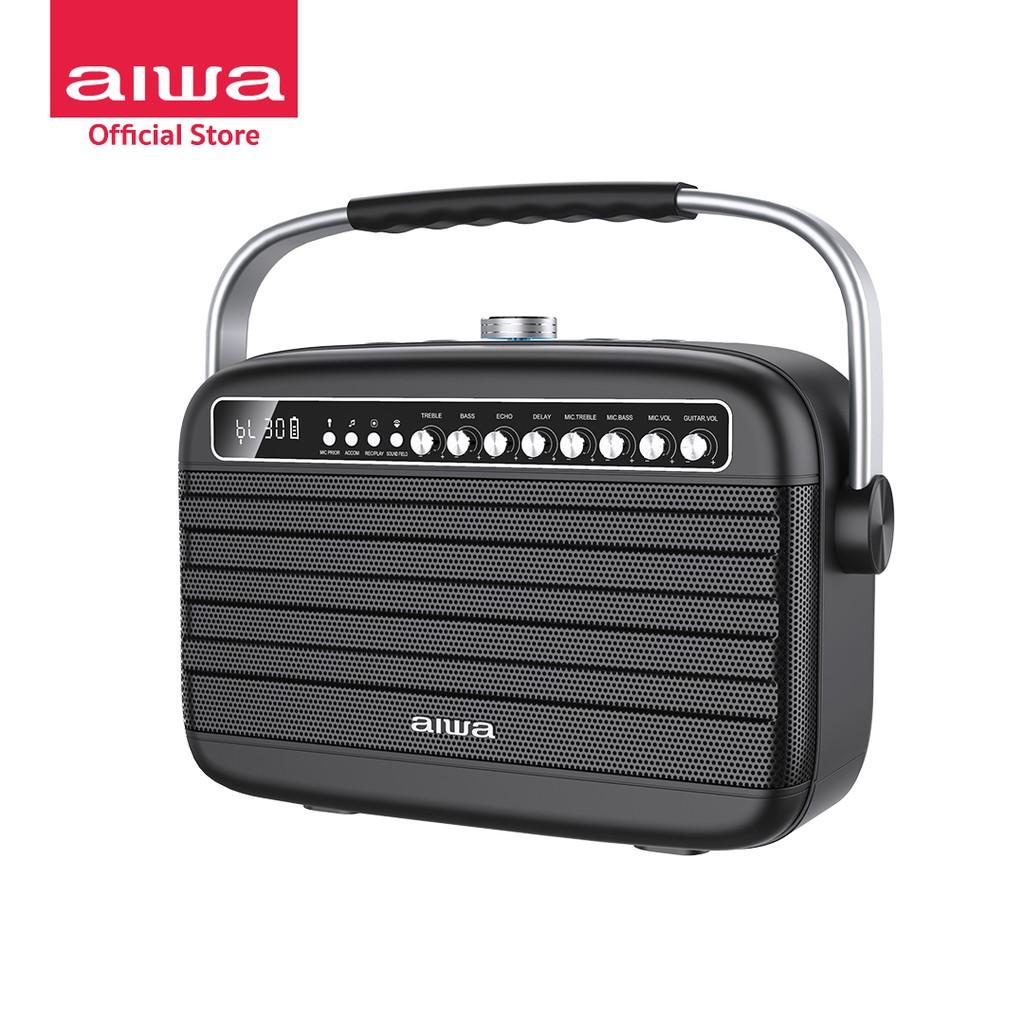 [ผ่อน 0%] AIWA Nova Bluetooth Speaker ลำโพงบลูทูธพกพา SUPER BASS