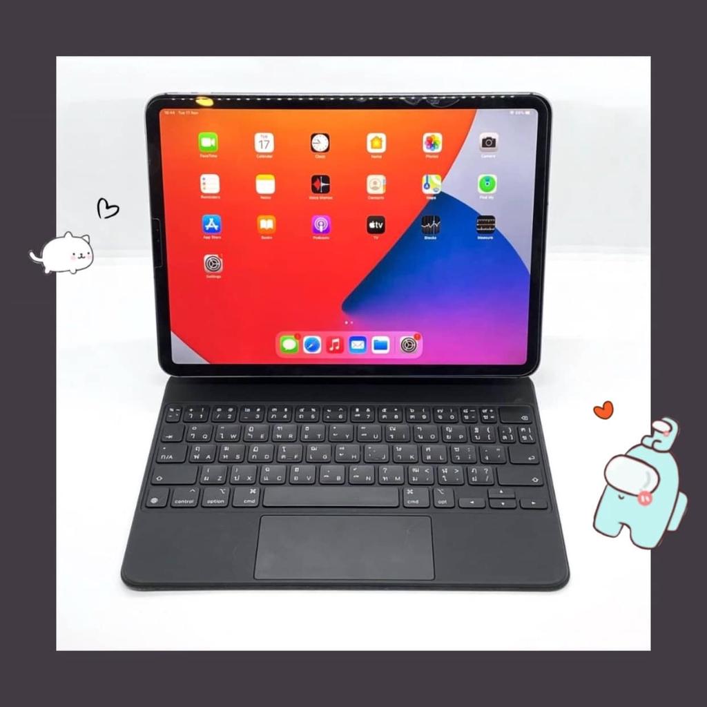 """iPad Pro 11"""" (2018) 256GB Cell สี Space Gray มือสอง สภาพ 97% [ไอแพด ไอแพดมือสอง ไอแพดราคาถูก iPad iPadมือสอง มือ2 ราคาถู"""