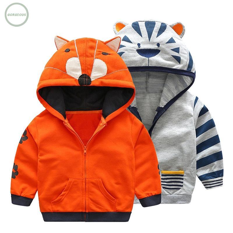 Winter Thicken Windproof Warm Kids Coat Outwear Clothing Boys Jackets Pocket Top