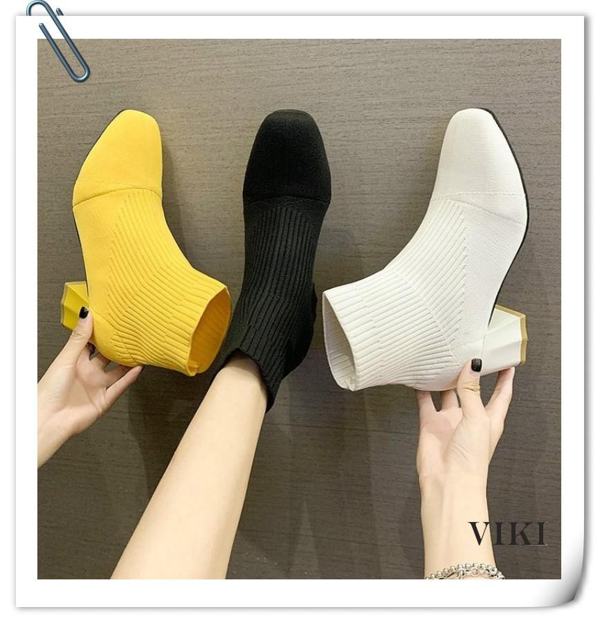 VIKI รองเท้าคัทชูผู้หญิง รองเท้ารัดส้น รองเท้าส้นสูง รองเท้า รองเท้าลำลอง รองเท้า แบบเสริมส้น รองเท้าส้นตึกและส้นเตารีด รองเท้าหุ้มข้อ รองเท้าบูท รองเท้าเตะแฟชั่น รองเท้าคัชชูแฟชั่น รองเท้ากันลื่น รองเท้าคัชชูแฟชั่น รองเท้าส้นสูงแฟชั่น